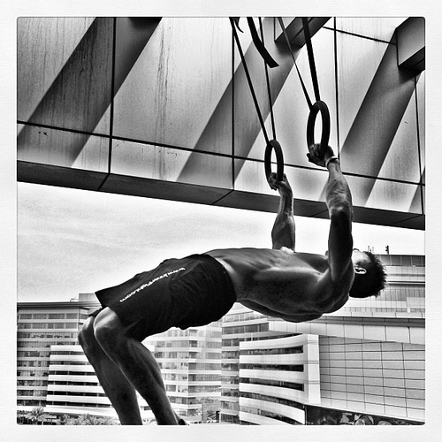 Learn The Moves : le Ring Muscle-Up