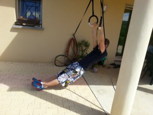 Muscle-up incliné